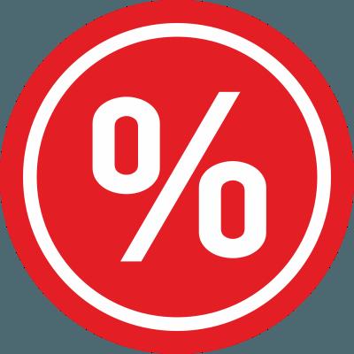 Минимальные процентные ставки и длительные сроки погашения кредитов.
